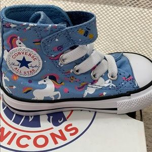 NEW Converse unicorn infant hitop sneakers size 4